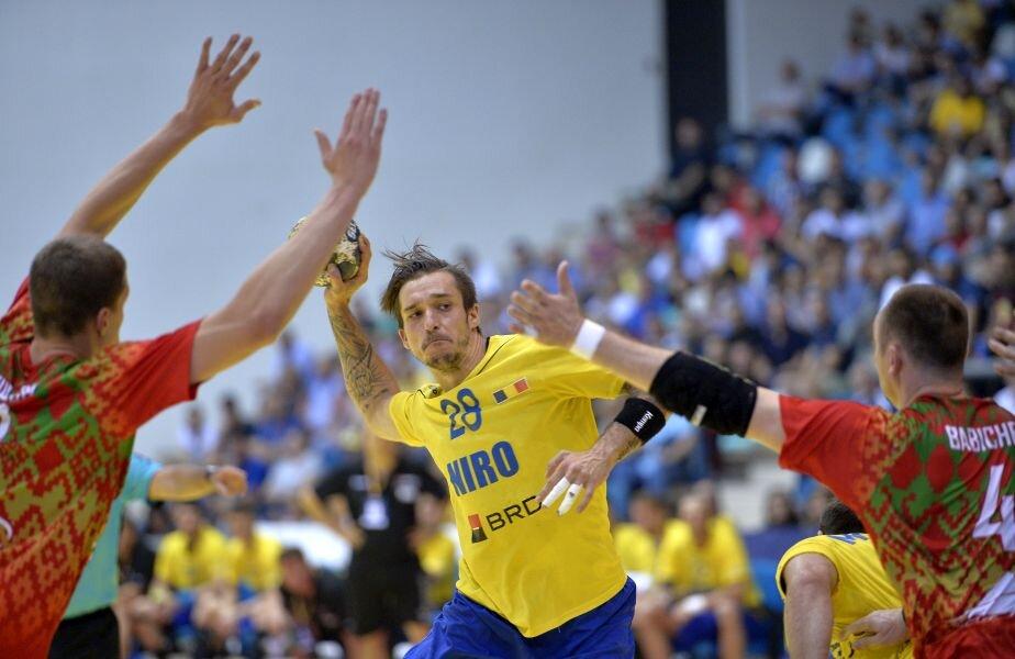 Alexandru Csepreghi a marcat de 4 ori în meciul de joi, contra Belarusului.  // FOTO: Cristi Preda