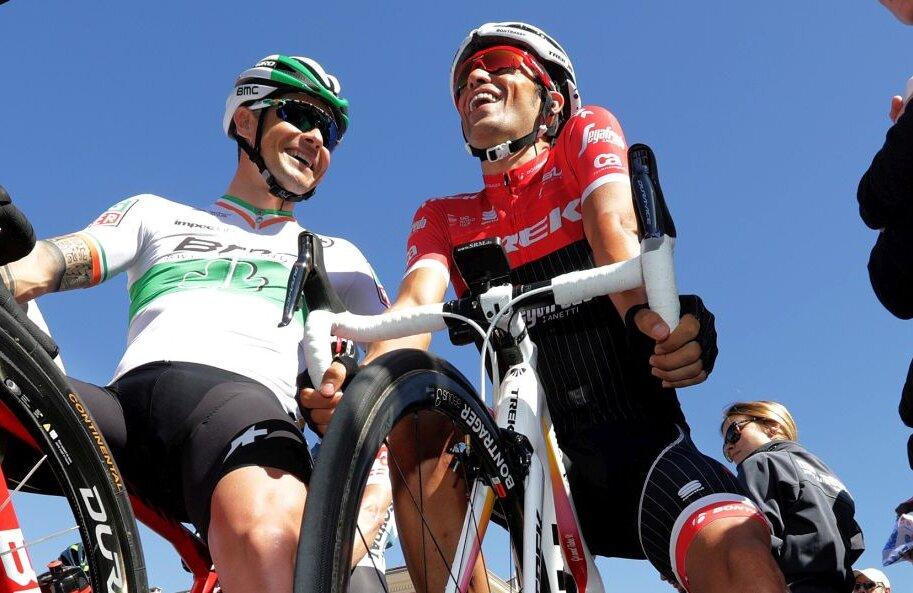 Alberto Contador, dreapta, a câștigat de două ori Turul Franței, ultima dată în 2009, foto: reuters