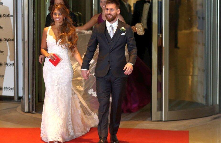 Galerie Foto Imagini De La Nunta Anului Messi și Antonela S Au