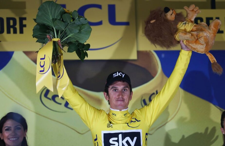 Geraint Thomas (Sky) Foto: Guliver/GettyImages