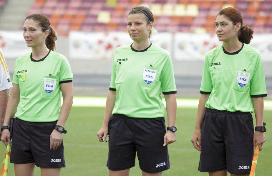 Mihaela Țepusă (stânga) și Petruța Iugulescu (dreapta) // FOTO: FRF.RO