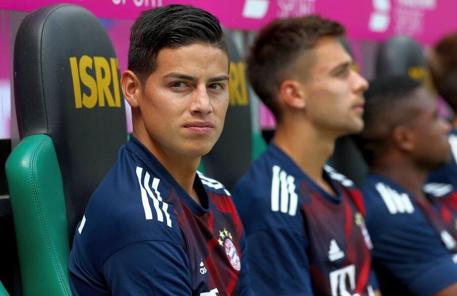 James e împrumutat de Real lui Bayern, care are și drept de cumpărare definitivă, foto: reuters