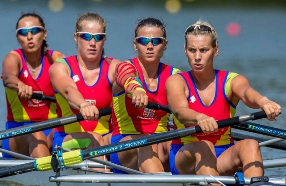 Alina Pop, Mădălina Parfenie, Cristina Popescu și Roxana Parașcanu sunt favorite la o medalie în cursa de azi