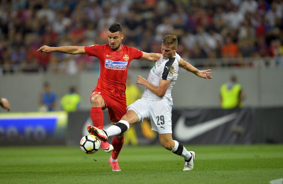 Budescu, 28 de ani, a venit la Steaua în schimbul a 750.000 de euro Foto: Alex Nicodim