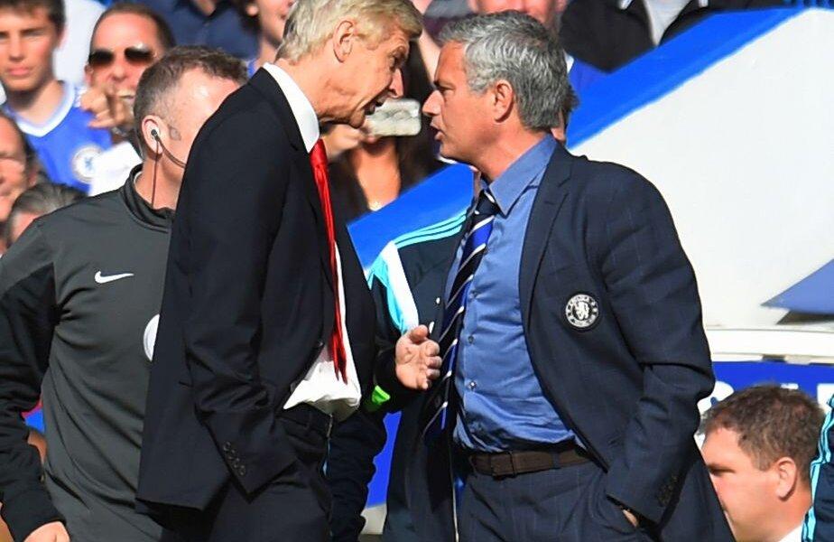 Mourinho și Wenger s-au