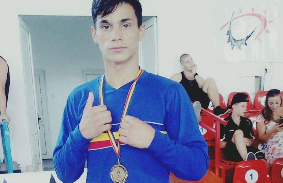 Cosmin Toboșaru, unul dintre medaliații cu bronz la Europenele de juniori FOTO: facebook