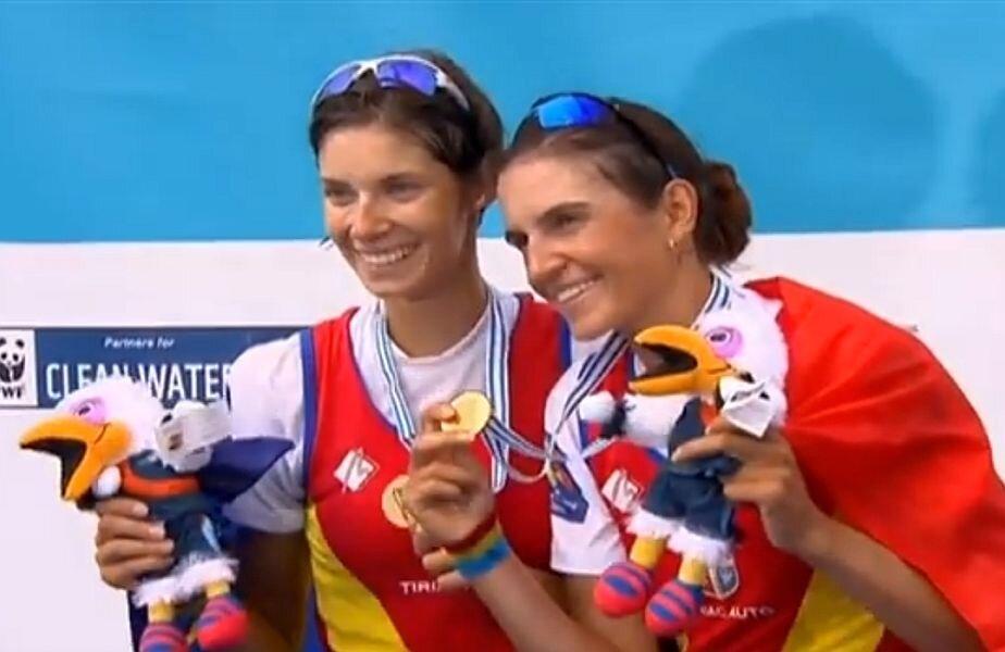 Gianina Beleagă (stânga) și Ionela Lehaci (dreapta) Foto: Captură TVR
