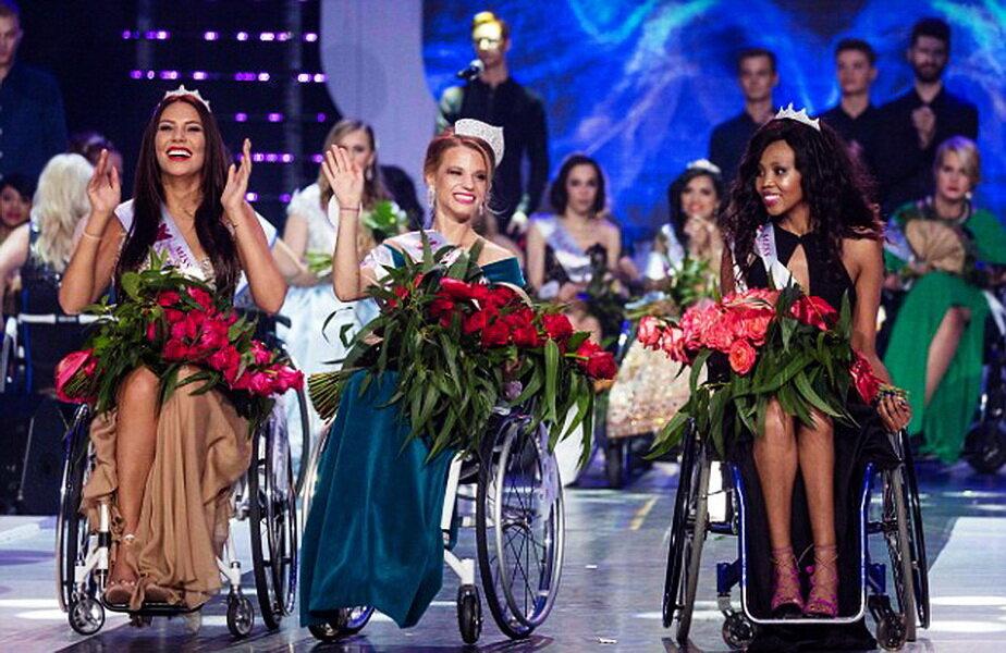 Miss World 2017 în scaun cu rotile