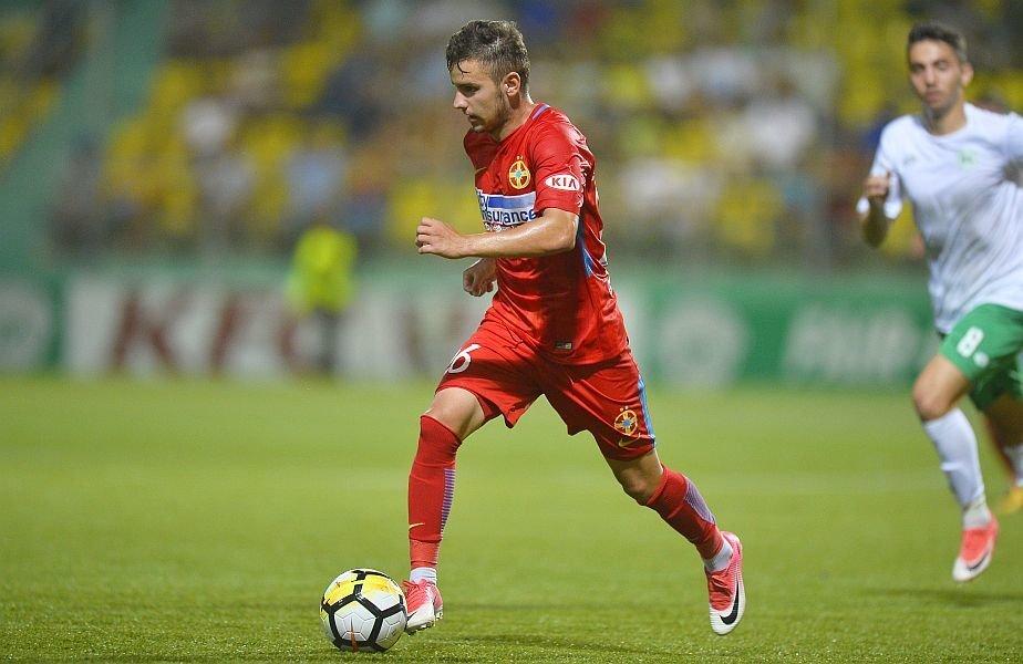 Mezinul familiei Benzar are și două goluri la prima echipă în acest sezon // FOTO: Raed Krishan