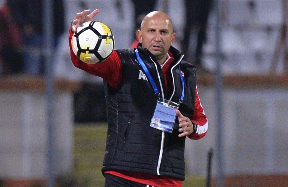 În acest sezon, Miriuță a bătut la Mediaș și cu Chiajna, 2-1, și cu Dinamo, 3-0 Foto: Cristi Preda