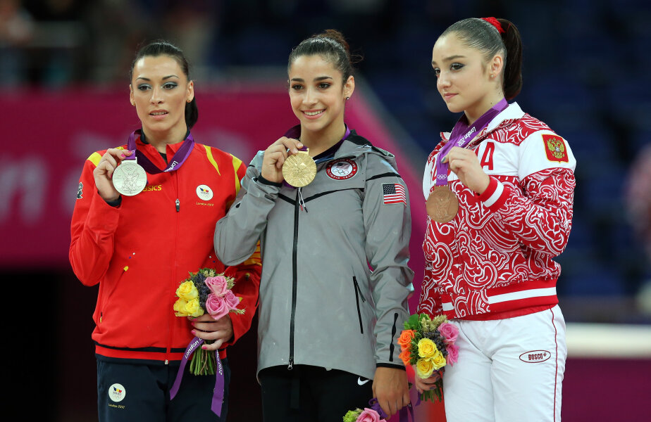 Aly Raisman (centru) Foto: Guliver/GettyImages