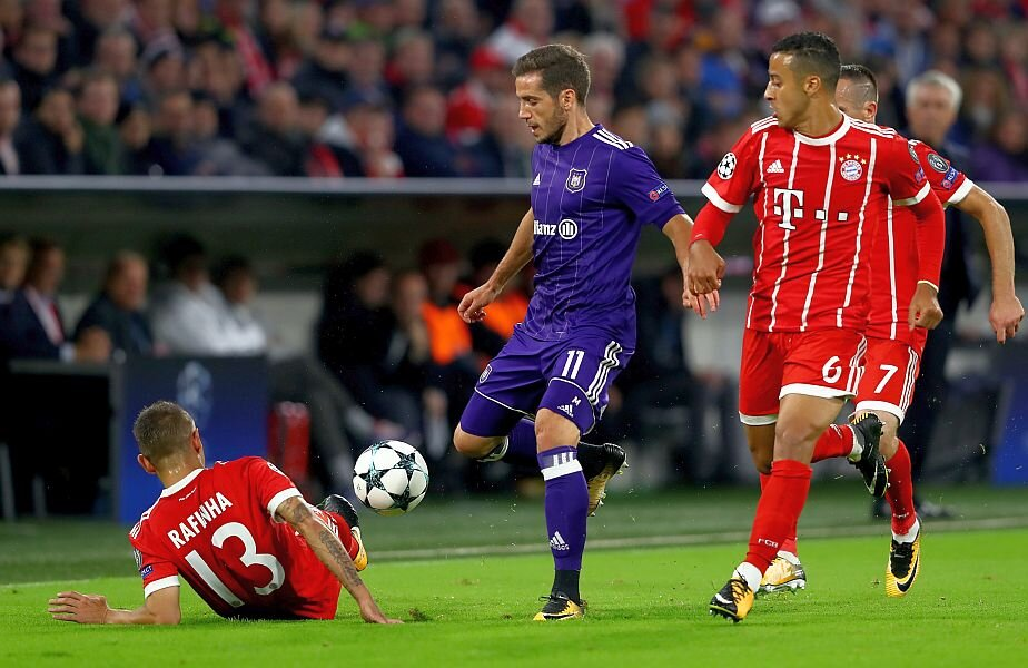 Alex Chipciu, la meciul tur cu Bayern  Foto: Guliver/GettyImges
