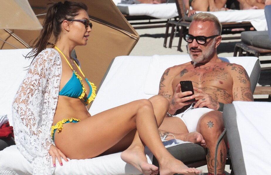 Julia Pereira & Gianluca Vacchi ► Foto: hepta.ro