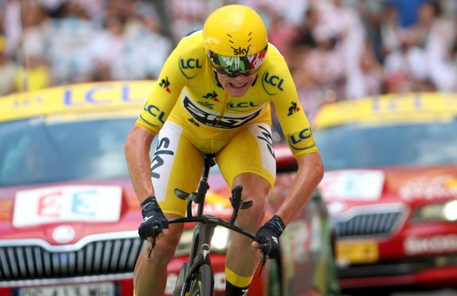 Chris Froome, foto: Gulliver/gettyimages