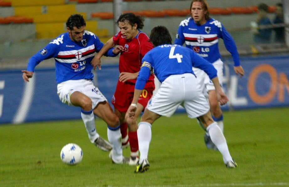 În 2005, Steaua termina grupa de Cupa UEFA peste italienii de la Sampdoria și ajungea în semifinalele competiţiei