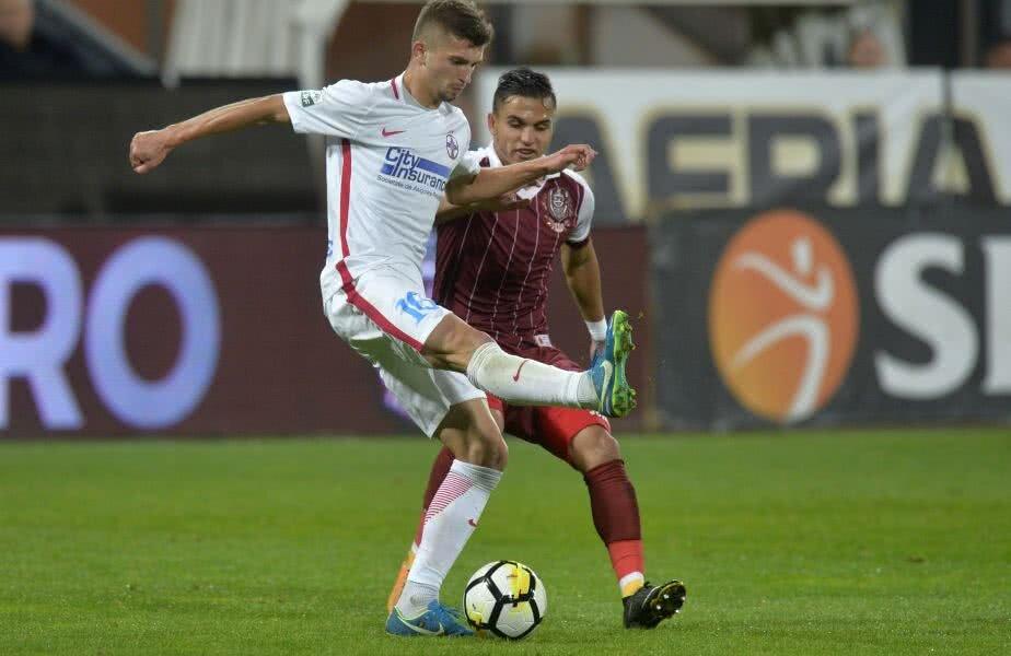 Cristi Manea, în vișiniu, în duel cu Florin Tănase