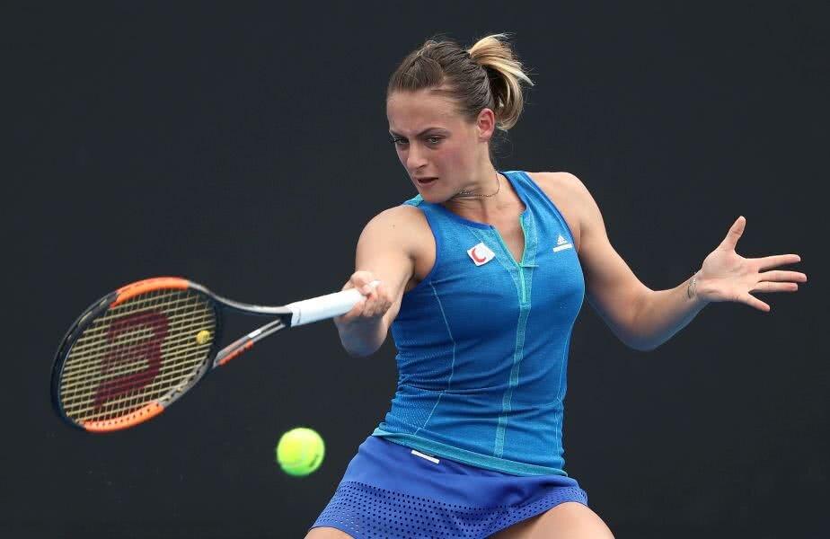 La ediția de anul trecut de la Australian Open, Ana Bogdan a fost eliminată în turul inaugural // FOTO: Guliver/ Getty Images