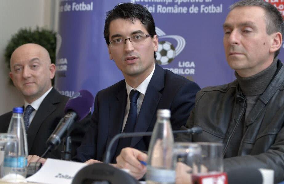 Burleanu în februarie 2014, când și-a lansat oficial candidatura Foto: Cristi Preda