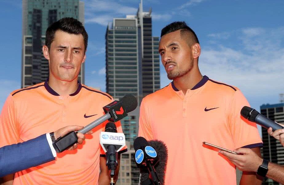 Bernard Tomici, în stânga, a strâns peste 5 milioane de dolari din tenis // FOTO: Guliver / Getty Images