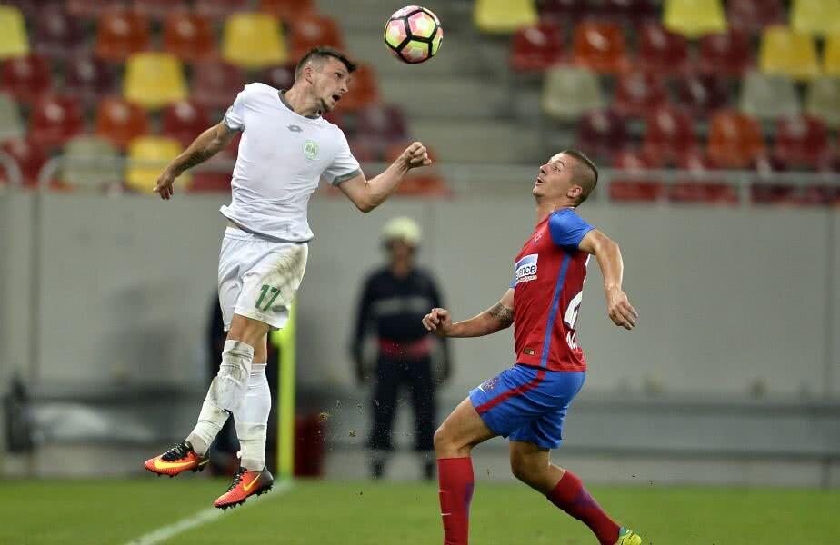 Florin Râsdan în duel cu Vlad Achim
