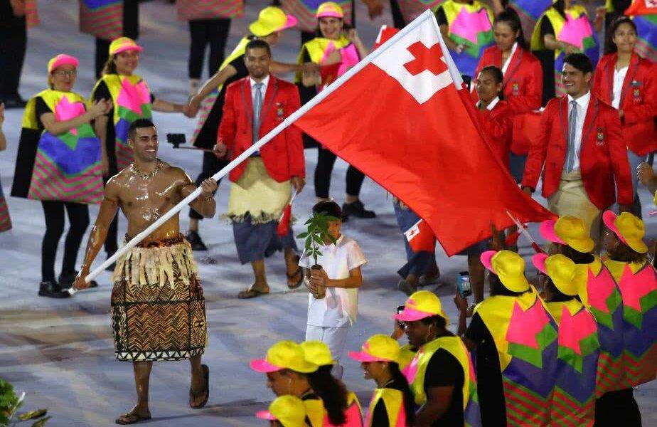 FOTO: Guliver/GettyImages, Pita Taufatofua la ceremonia de deschidere a Jocurilor Olimpice de la Rio