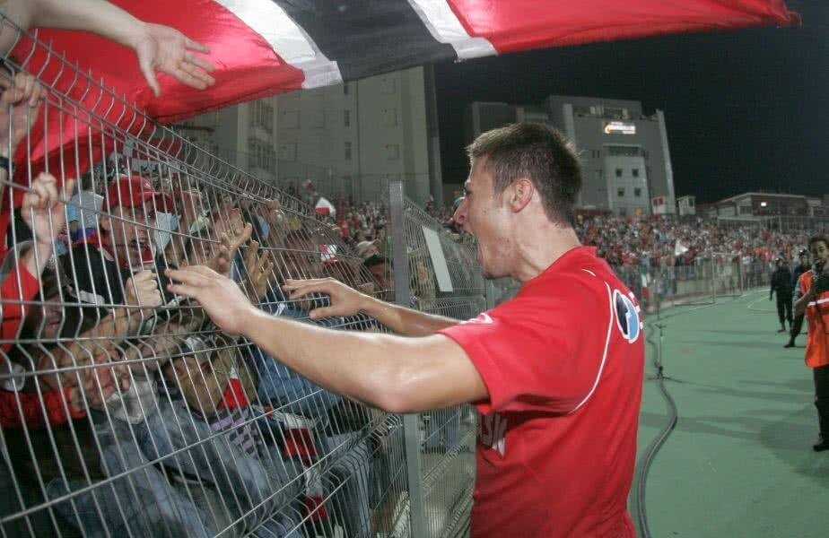 Ștefan Radu a jucat pentru Dinamo între 2004 și 2008, perioadă în care a cucerit un titlu, o Cupă și o Supercupă a României // FOTO: Arhivă Gazeta Sporturilor