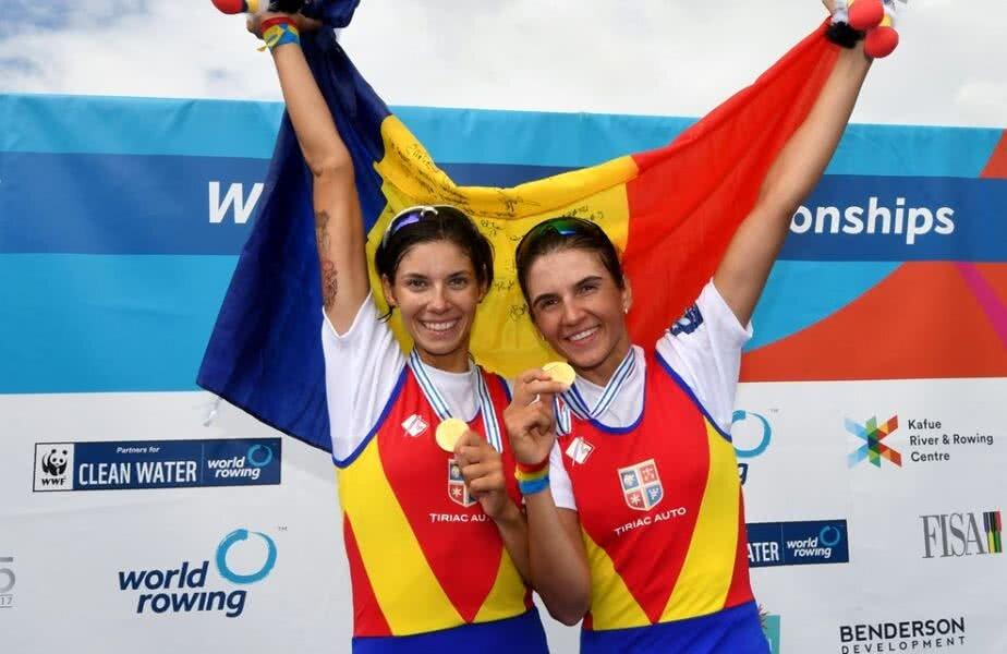 Gianina și Ionela pe podium, la Mondialele de la Sarasota