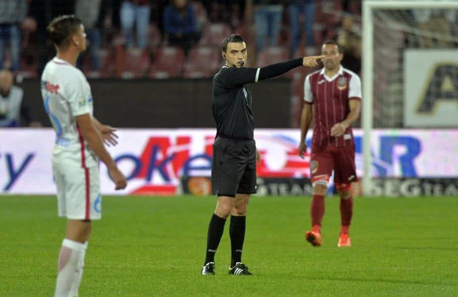 Hațegan (37 de ani) are o experiență de peste 10 ani atât în Liga 1 cât și pe lista FIFA // FOTO: RAED KRISHAN