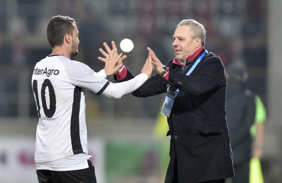 Constantin Budescu și Marius Șumudică  (foto: Raed Krishan)