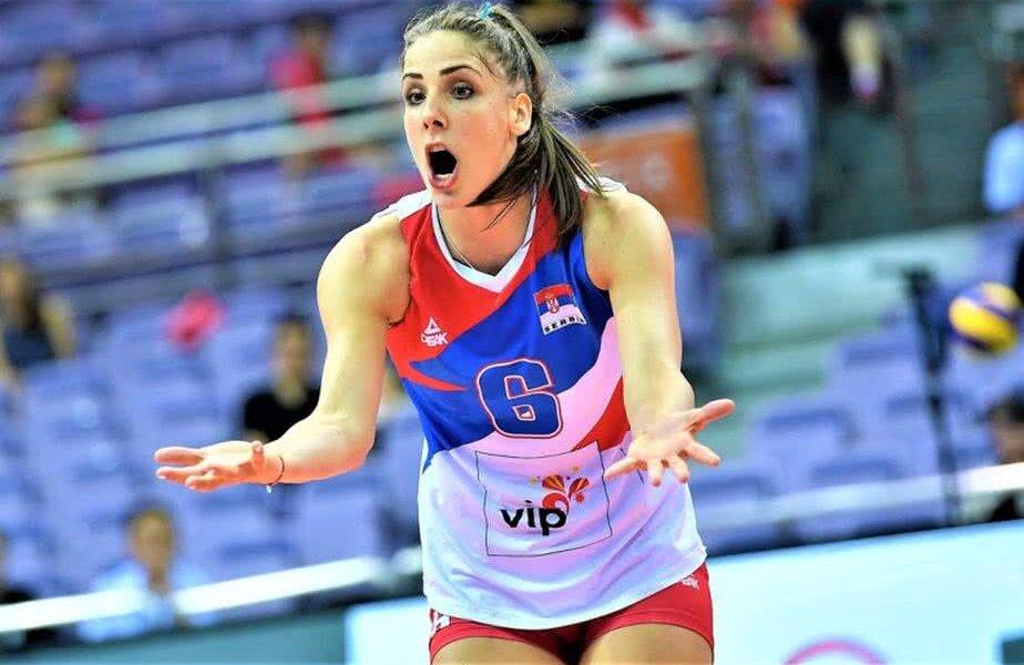 Tijana Malesevici este vicecampioană olimpică la Rio cu Serbia FOTO