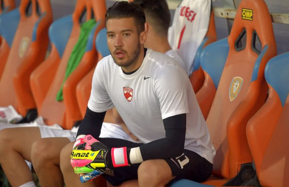 Dinamo l-a împrumutat pe Iustin Popescu până în vară la Chindia // FOTO: Ștefan Constantin