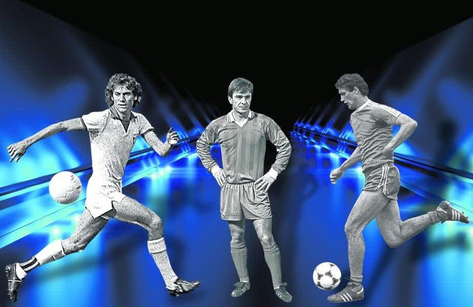 Dugu Georgescu, Mateuț și Rodion Cămătaru FOTO: Fotomontaj Gazeta Sporturilor