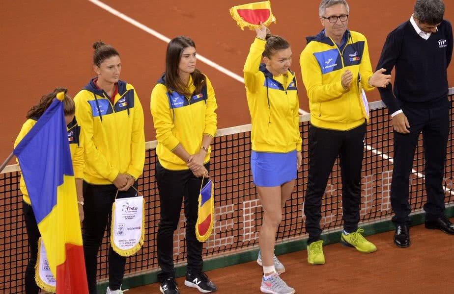 Optimal Urmeaza Romania Fed Cup Finaliste Campioane Adversare Cosmar Tricolore