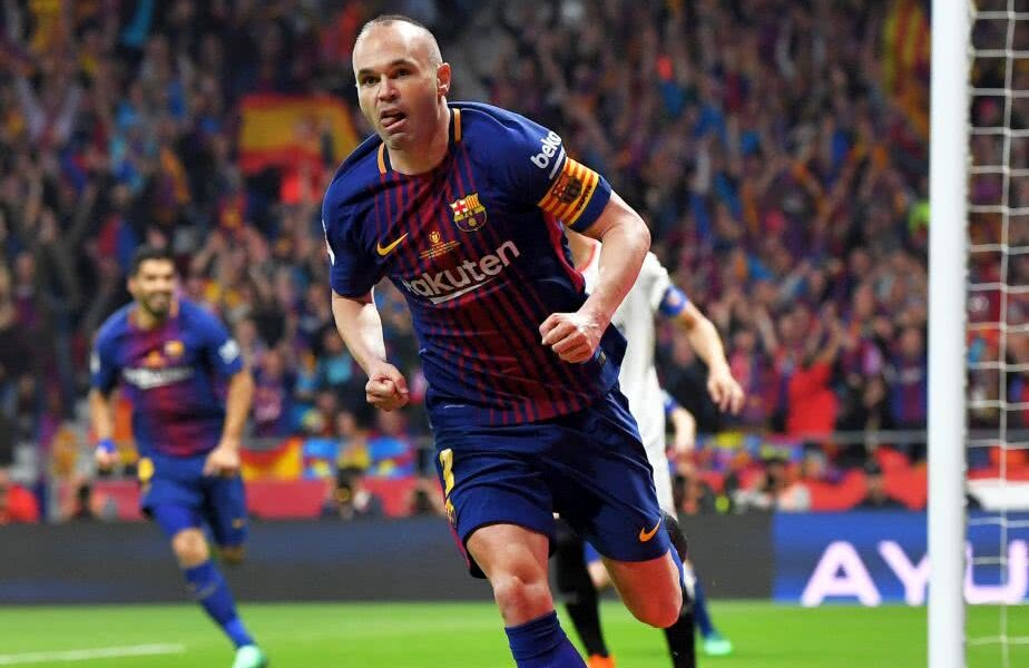 Andres Iniesta, foto: Guliver/gettyimages