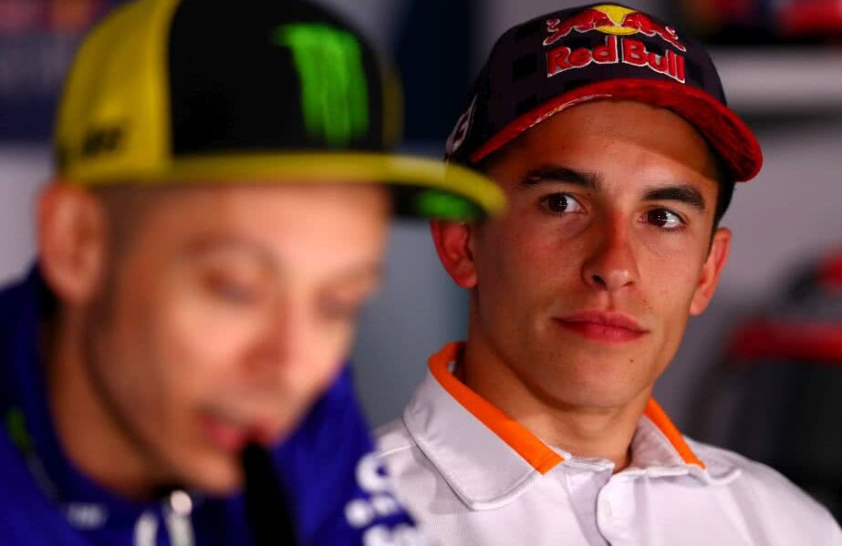 Valentino Rossi, Marc Marquez