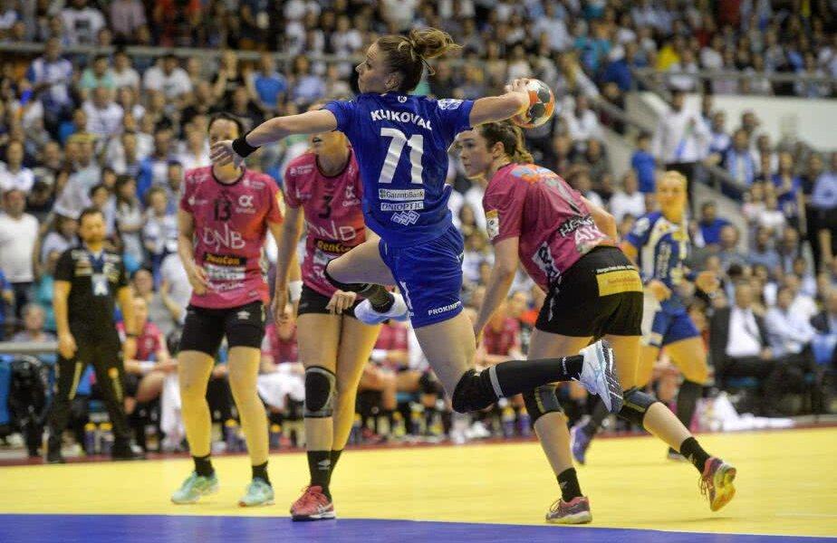 Bobana Klikovac a marcat de cinci ori în finala de vineri seară FOTO Raed Krishan