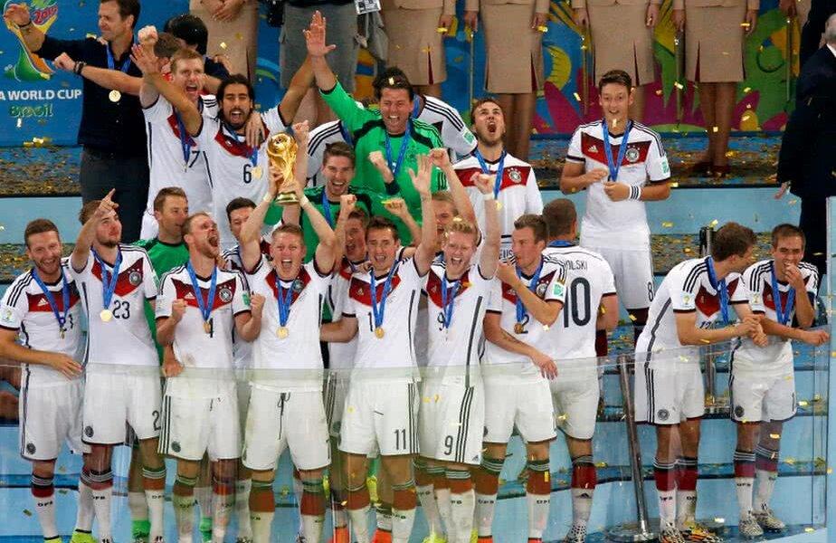 Germania a câștigat ultima ediție de CM, în 2014, 1-0 cu Argentina // FOTO: Guliver/GettyImages
