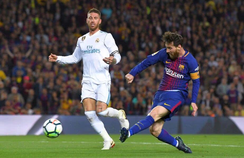Leo Messi și Sergio Ramos FOTO: Guliver/GettyImages