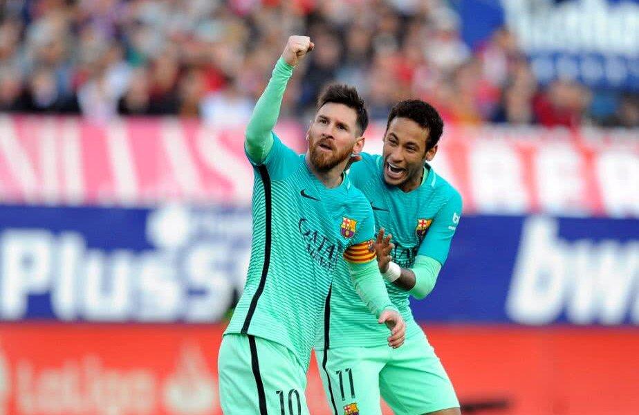 Leo Messi și Neymar FOTO: Guliver/GettyImages