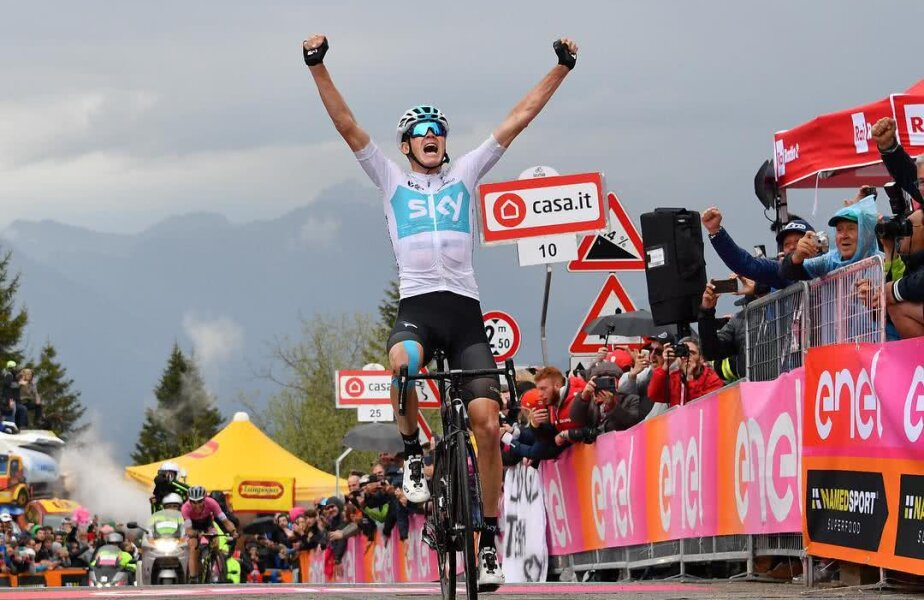 Chris Froome, foto: Instagram Giro D'Italia