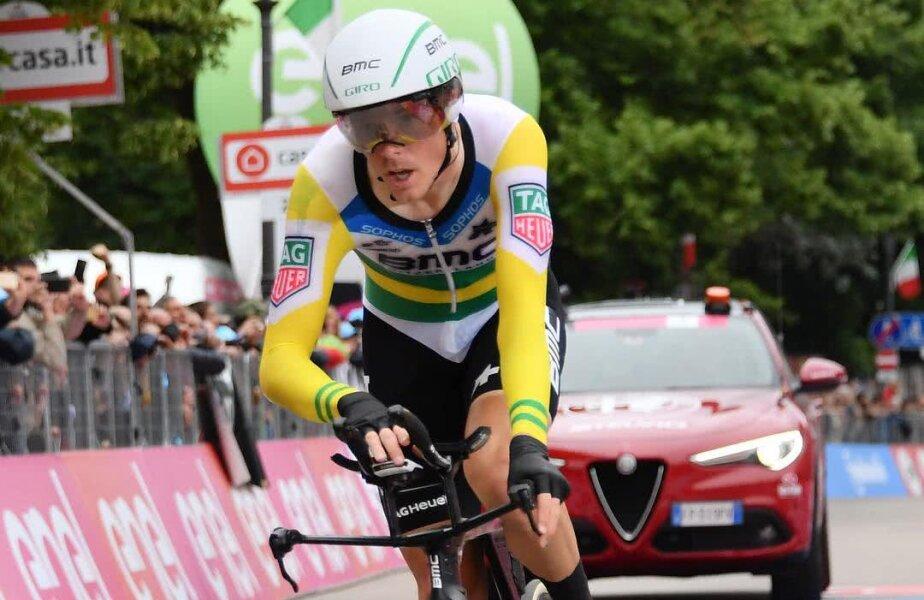 Rohan Dennis, foto: Giro d'Italia Instagram
