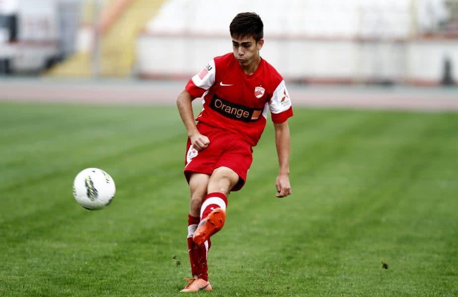 Andrei Radu are 1 meci pentru Dinamo în Liga 1