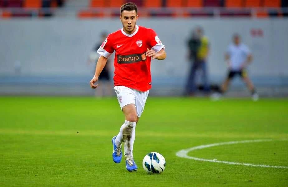 Raphael Stănescu în tricoul lui Dinamo // Foto: Cristi Preda