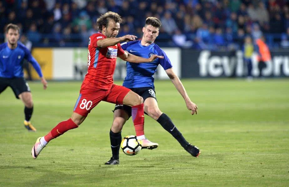 Teixeira a jucat 36 de meciuri la FCSB sezonul trecut: 27 în campionat, 4 în Champions League şi 5 în Europa League Foto: Cristi Preda