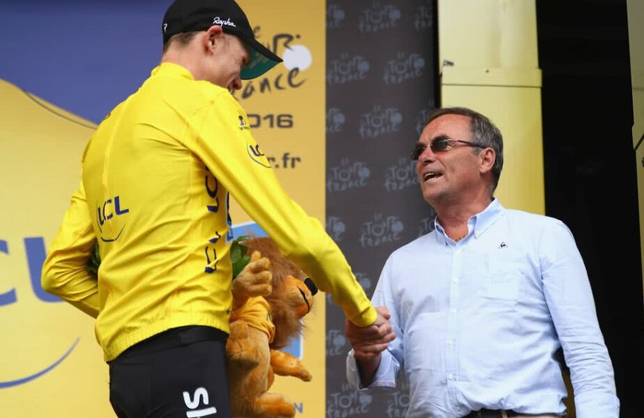 Chris Froome, stânga, și Bernard Hinault, dreapta, foto: Guliver/gettyimages