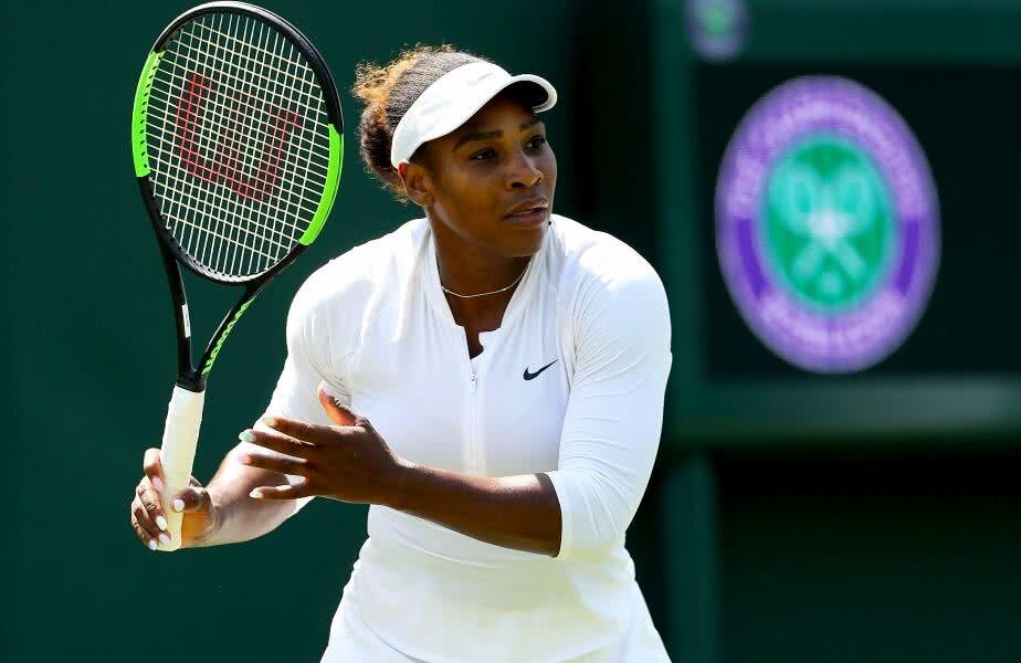 Serena Williams, la unul dintre antrenamentele din această săptămână // FOTO: Guliver/ Getty Images