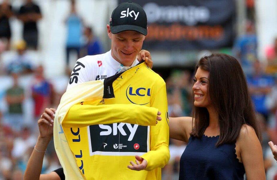 Chris Froome luptă pentru al cincilea tricou galben din carieră, foto: Guliver/gettyimages