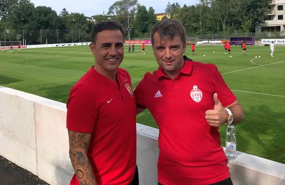 Cannavaro și Janos Bokor