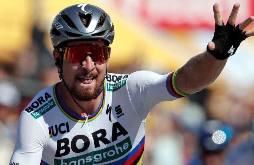 Peter Sagan, prima victorie în Turul Franței 2018, foto: reuters