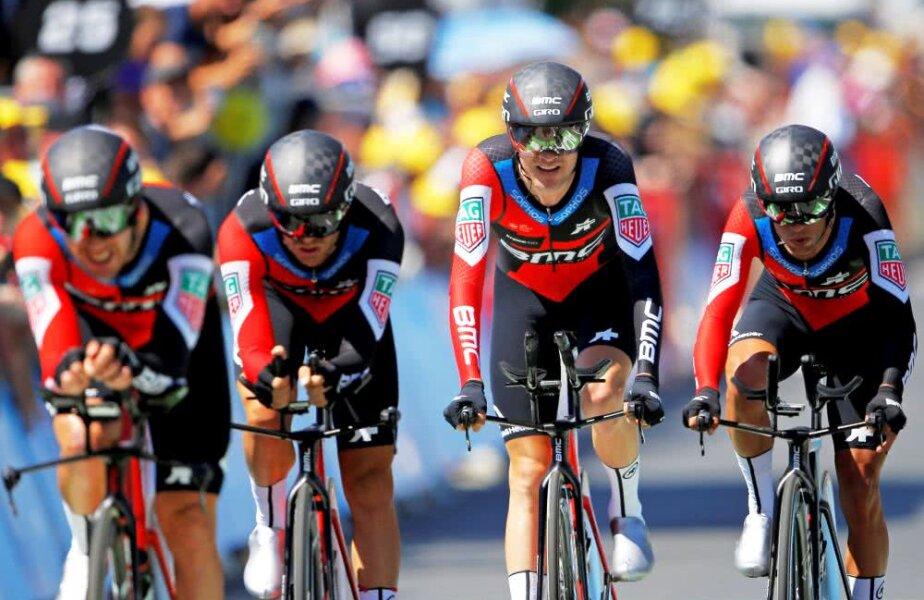 BMC a câștigat etapa a 3-a din Turul Franței, foto: reuters